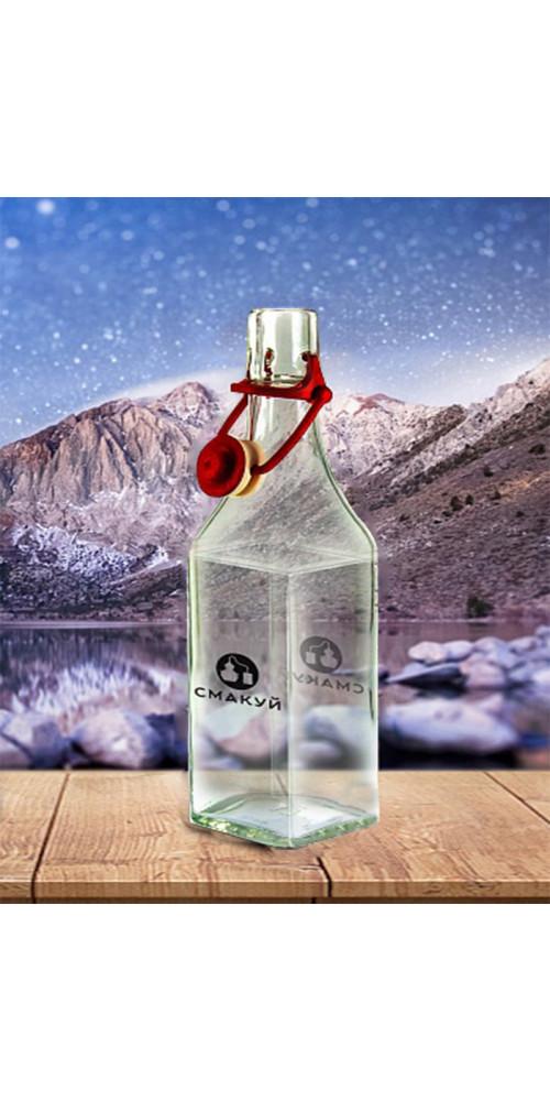 Бутылка, стекло, бугельная крышка 0,5л - купить в интернет-магазине Смакуй