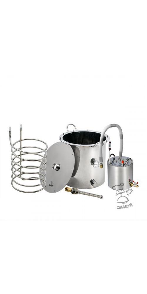"""Комплект оборудования для варки пива """"Смакуй"""" - 37 л. - купить в интернет-магазине Смакуй"""