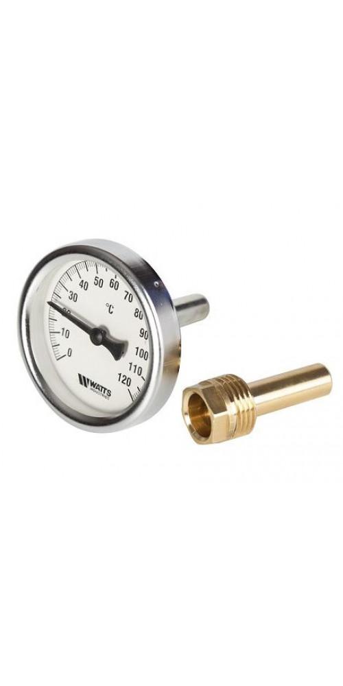 Термометр биметаллический для коптильни - купить в интернет-магазине Смакуй