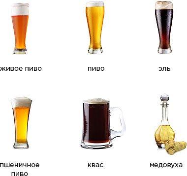напитки пиво